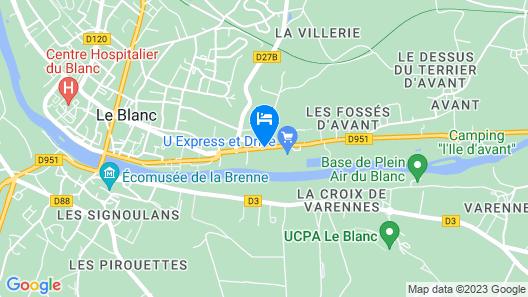 Le Manoir de La Presle Map