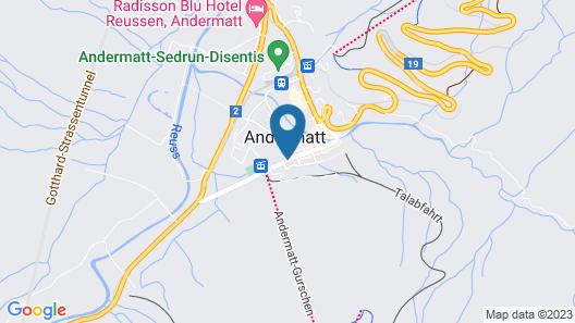 Gasthaus Skiklub Map