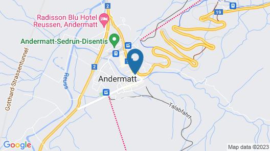 Alpenhotel Schlüssel Map