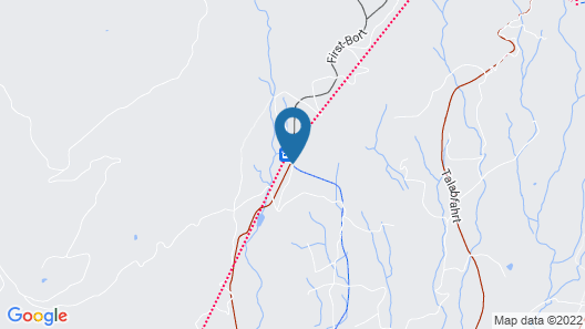 Alpinhotel Bort Map