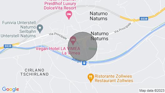 Anatura Apartment Naturns Map
