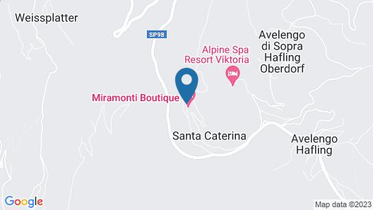 Gran Panorama Miramonti Map