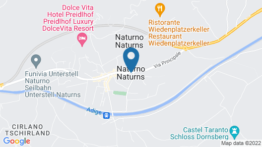 Hotel Prokulus Map