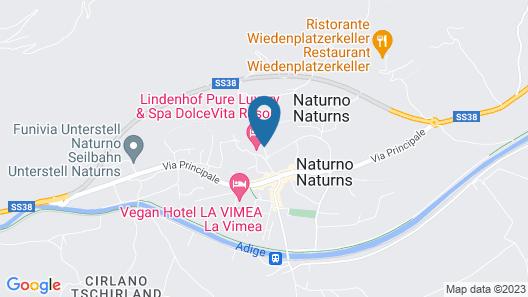 Hotel Weingarten Map