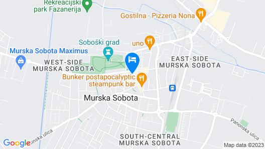 Hotel Zvezda Map