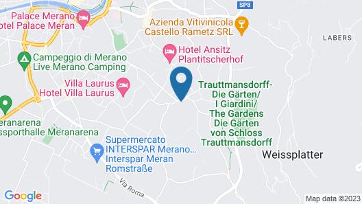Villa Eden - The Leading Park Retreat Map