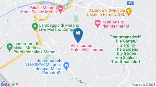 Villa Laurus Map