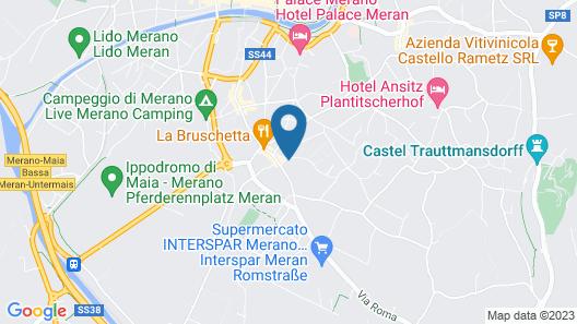 Appartamento Quindici Map