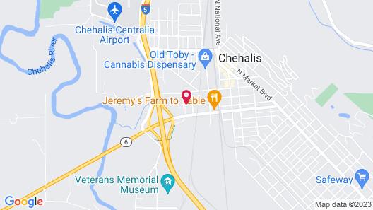 Holiday Inn Express Chehalis-Centralia, an IHG Hotel Map