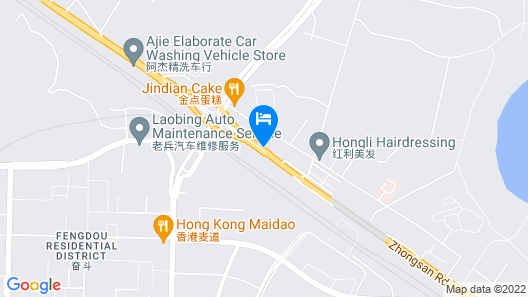 I Love Hostal Map