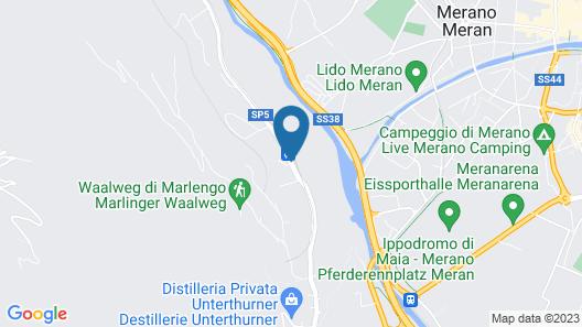 La Maiena Meran Resort Map