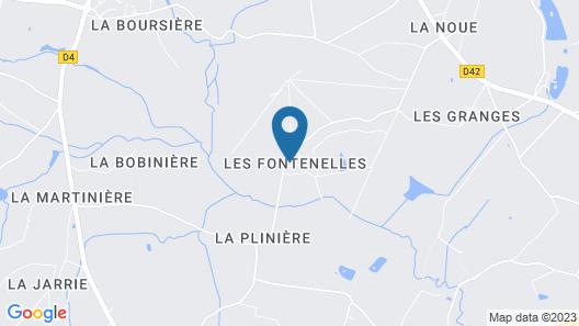 Chambres D'hôtes Domaine Les Fontenelles Map