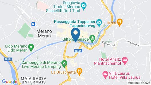 Hotel Therme Meran - Terme Merano Map