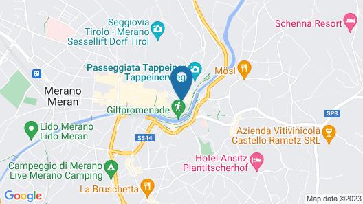 VILLA BERGMANN SUITES MERAN Map