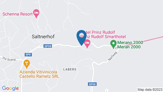 Prinz Rudolf Smarthotel Map
