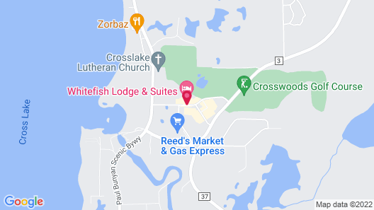 Whitefish Lodge and Suites Map