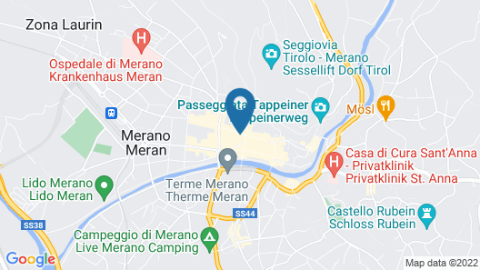 Residence Rösch Map