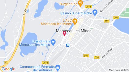 Hôtel Nota Bene Map