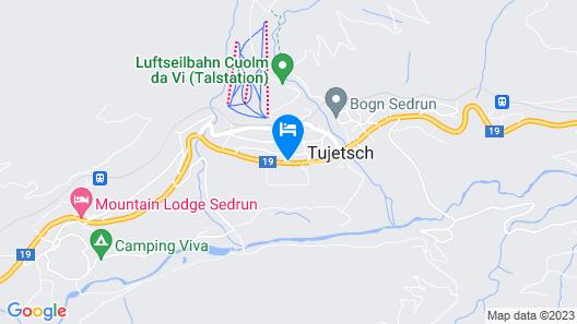 Hotel Mira Map
