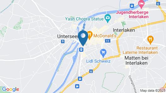 Hotel Merkur Interlaken Map