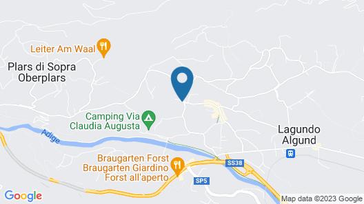 Appartamenti Grazia-Dei Map