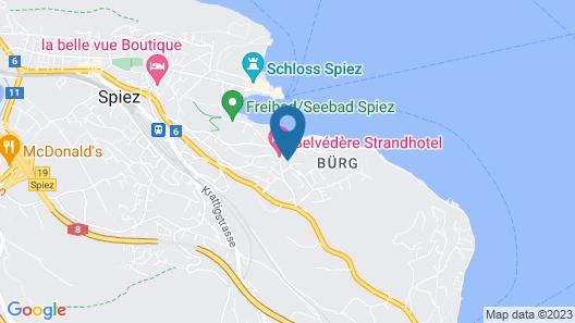Hotel Seaside ABZ Spiez Map