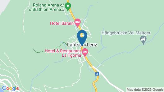 Hotel Sarain Active Mountain Resort Map
