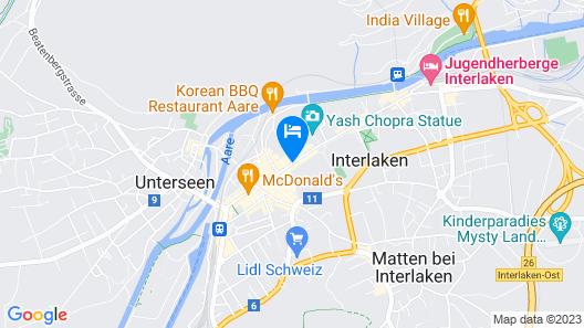 VICTORIA-JUNGFRAU Grand Hotel & Spa Map