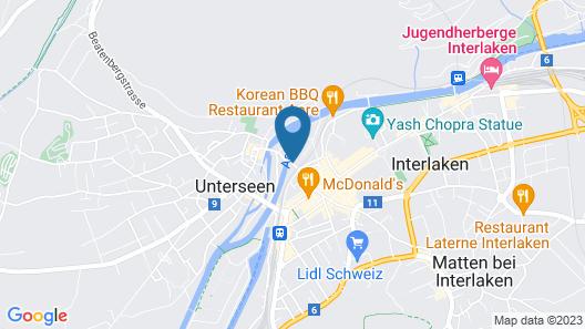 Alplodge Interlaken Map