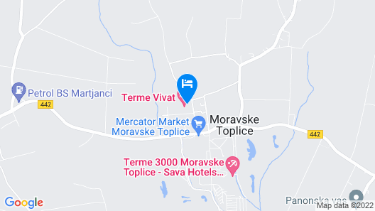 Terme Vivat Map