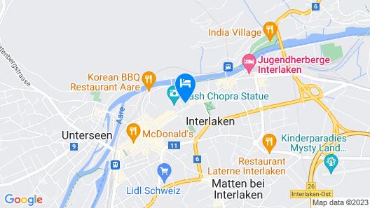 Hapimag Resort Interlaken Map
