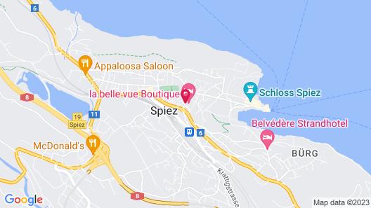 La belle vue - Boutique Hotel & Café Map