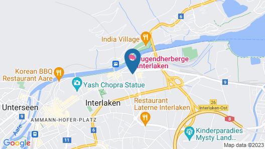 24/7 Concierge Apartments Interlaken Map