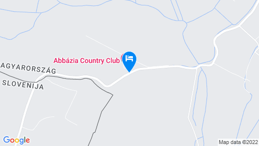 Abbázia Country Club Map