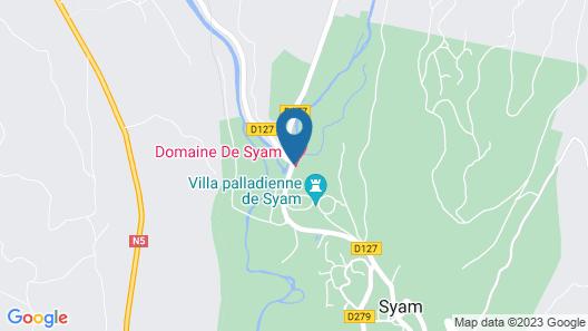 Domaine de Syam Map