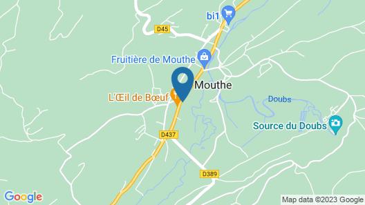 Chambre d'hôtes La Chaumière Map