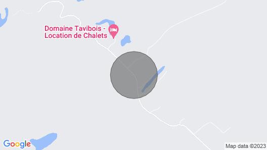 Chalet en Bois Rond Canadien Map