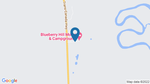 Blueberry Hill Cottages - Campground Map