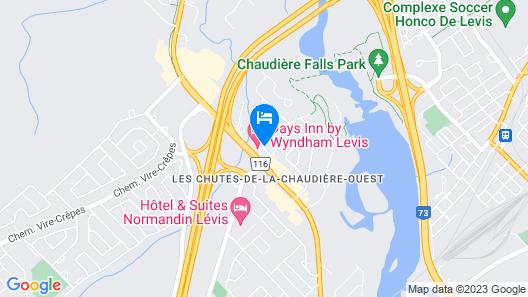 Days Inn by Wyndham Levis Map