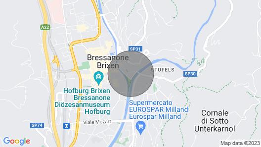 Casa Favetta 4 Posti + Brixencard + Bonus Vacanze Map