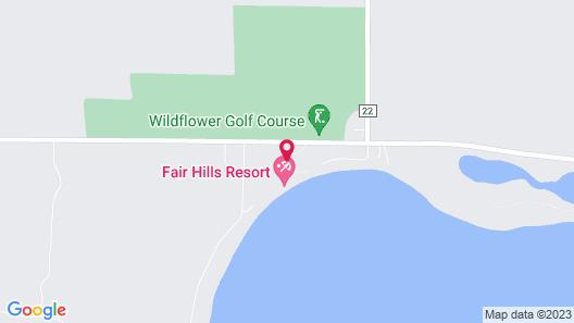 Fair Hills Resort Map