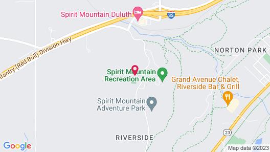 Mountain Villas Map