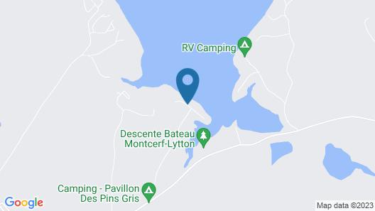 Pavillon des Pins Gris - Chalet et Camping Map