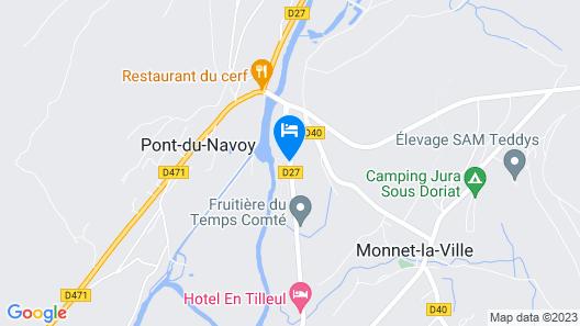 Chalets Nemo du Camping Le Bivouac Map