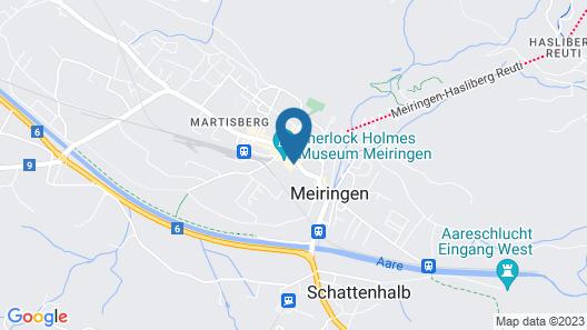 Parkhotel du Sauvage Map