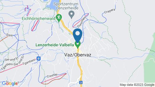 Hotel Lenzerhorn Spa & Wellness Map