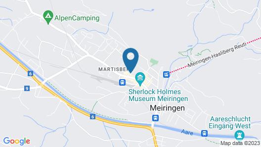 Hotel Dakota Map