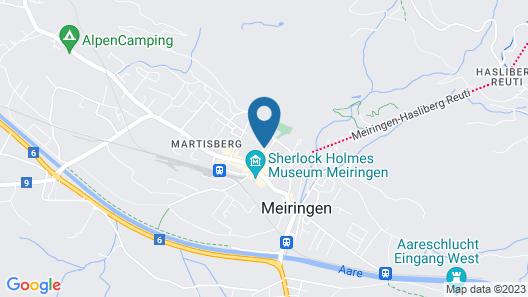 Hotel Alpbach Map