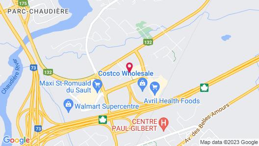 Hampton Inn & Suites by Hilton Quebec City /Saint-Romuald Map