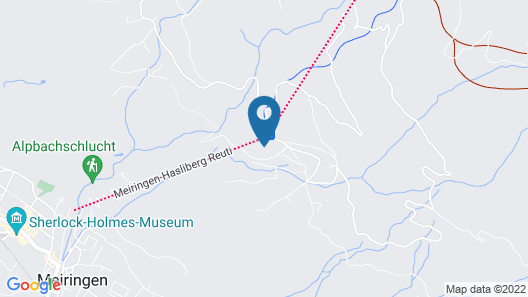 PENSION CHALET BERKANA Map